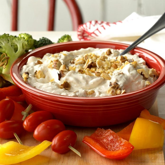 Blue Cheese Onion Dip
