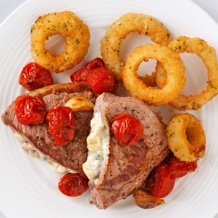 Blue Cheese-Stuffed Steaks