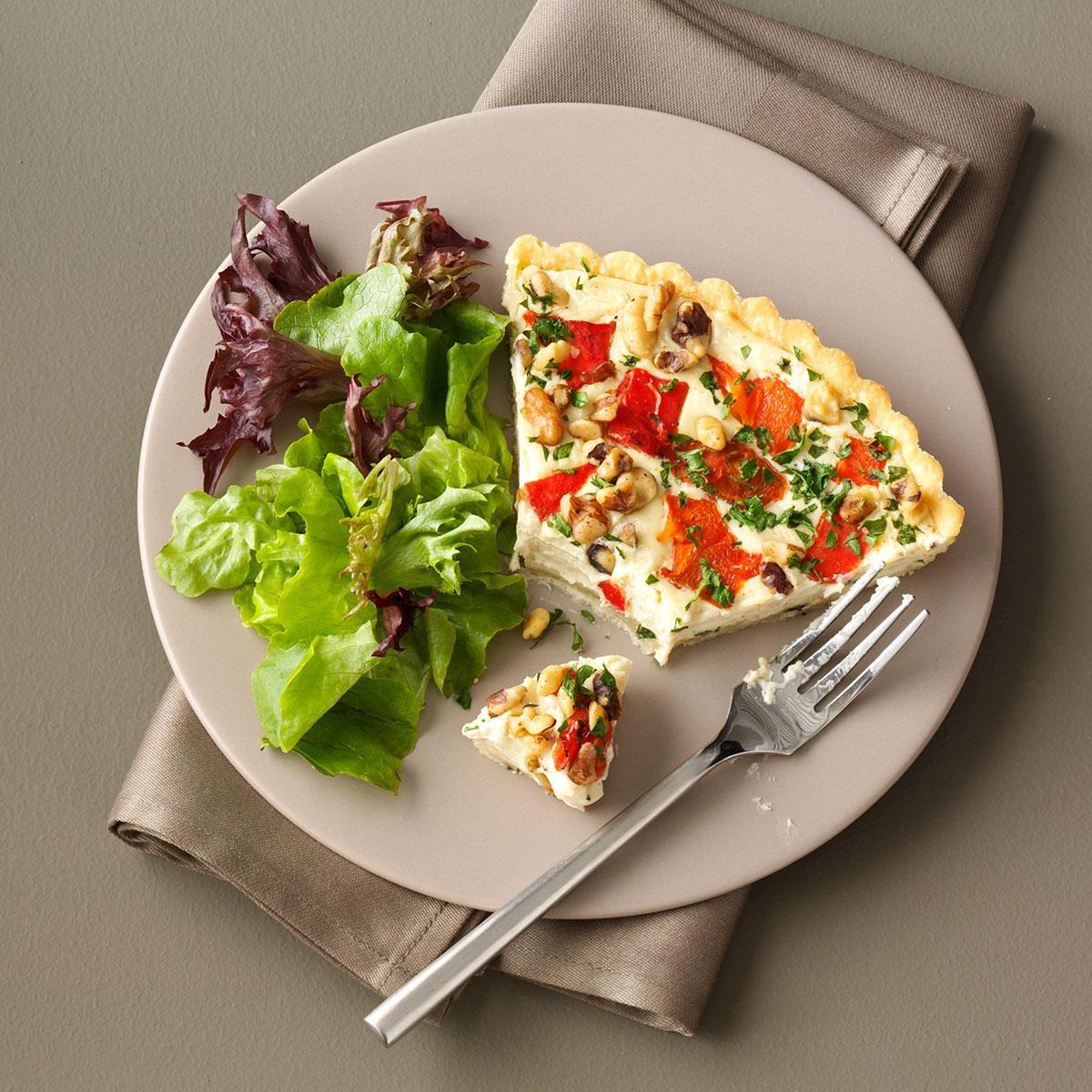 Blue Cheese Walnut Tart