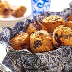 Blueberry-Bran Muffins