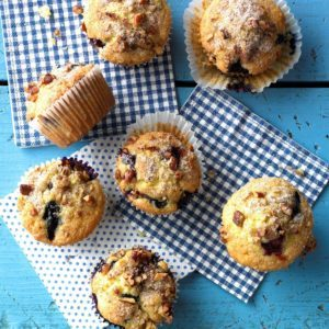 14 Blueberry Muffins Worth Getting Up For