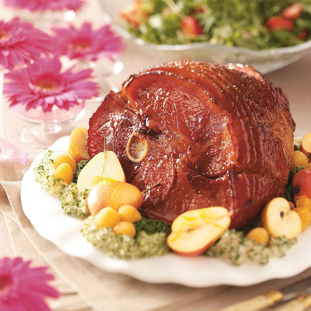 Bourbon Baked Ham Recipe Taste Of Home