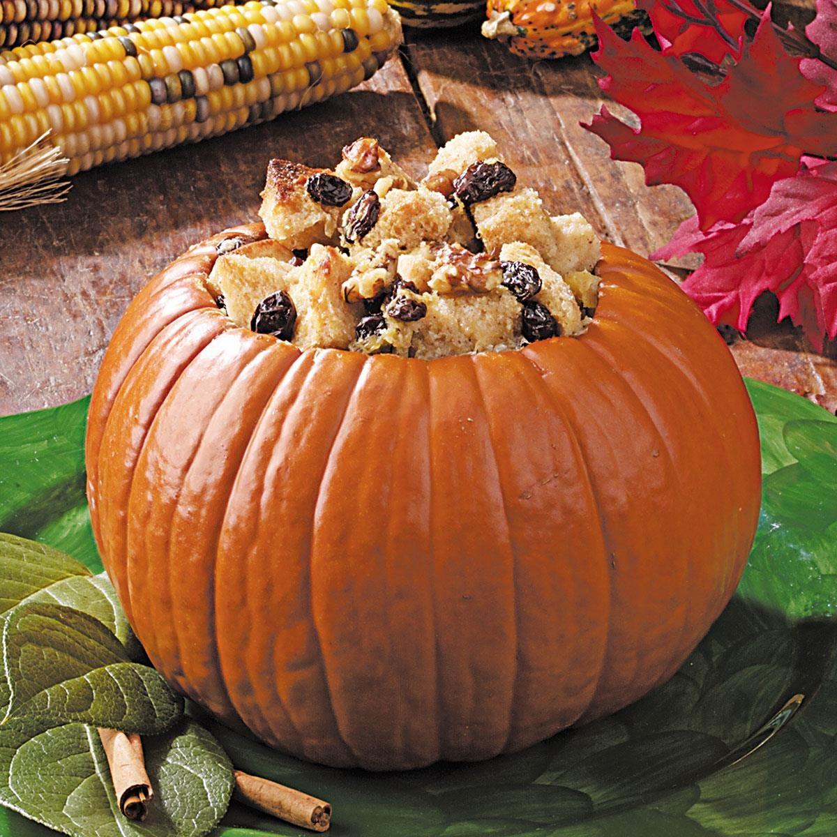 Bread Pudding Pumpkin Recipe