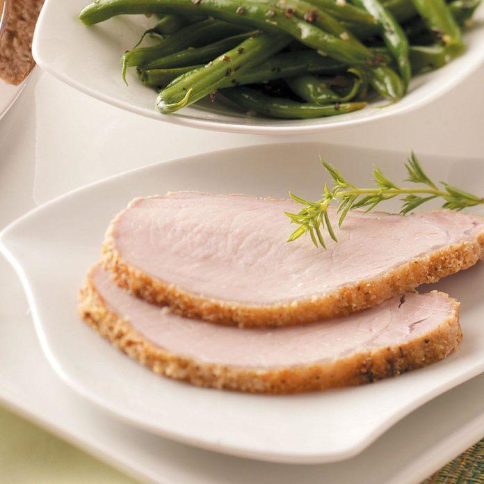 Breaded Pork Roast