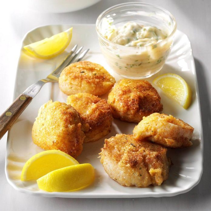 Day 22: Breaded Sea Scallops