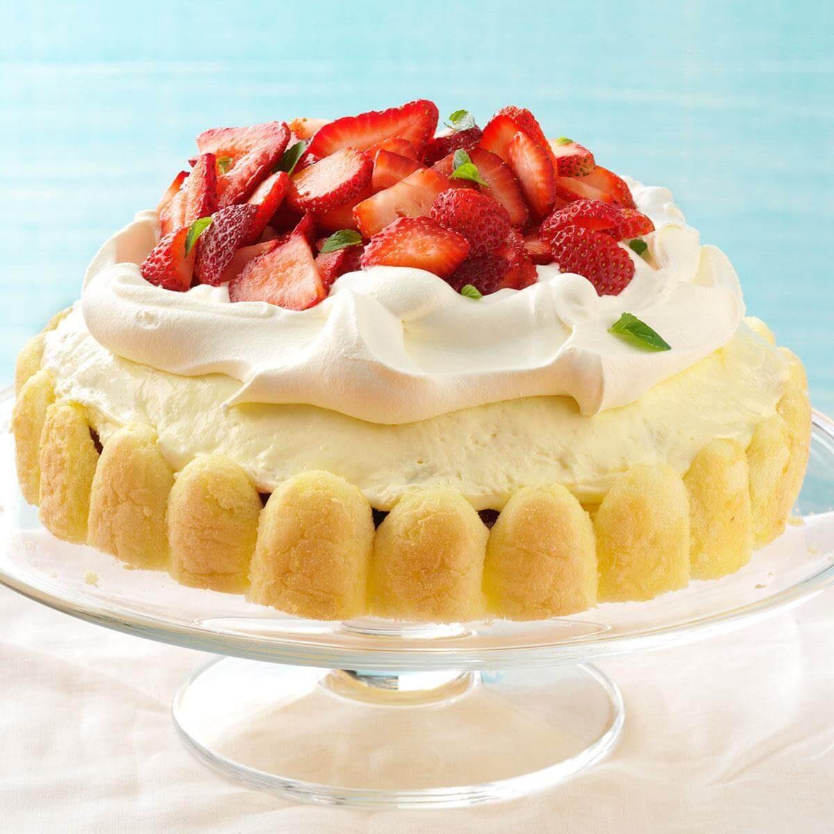 Breezy Lemon-Berry Dessert Recipe