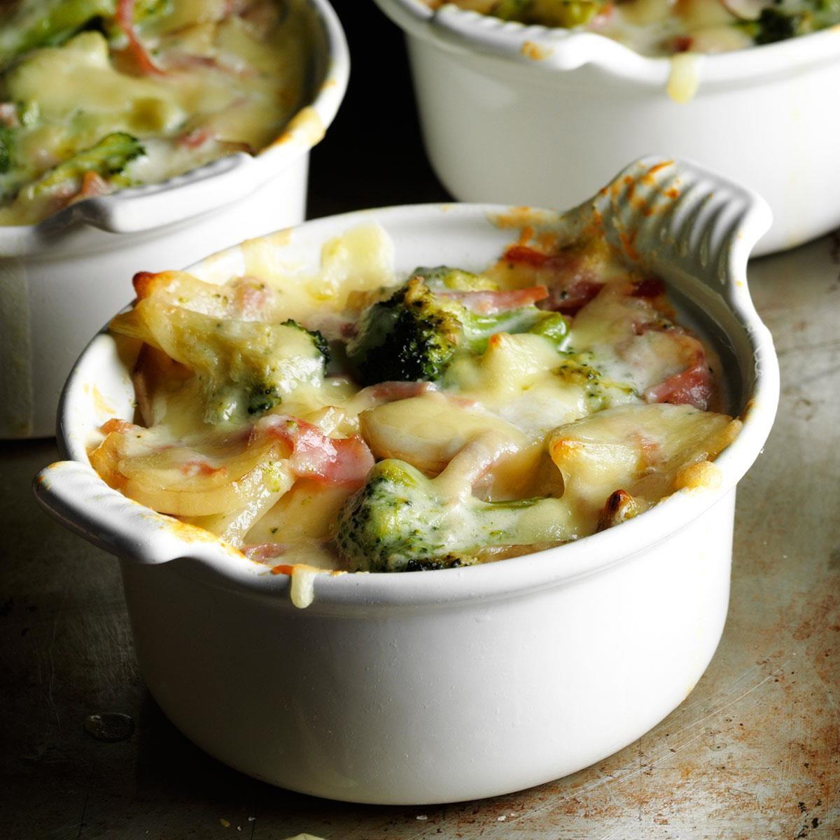 Broccoli Scalloped Potatoes Recipe Taste Of Home