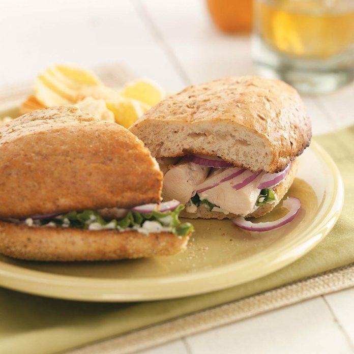 Broiled Chicken Tenderloin Sandwiches