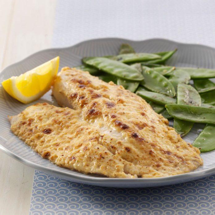 Idaho: Broiled Parmesan Tilapia