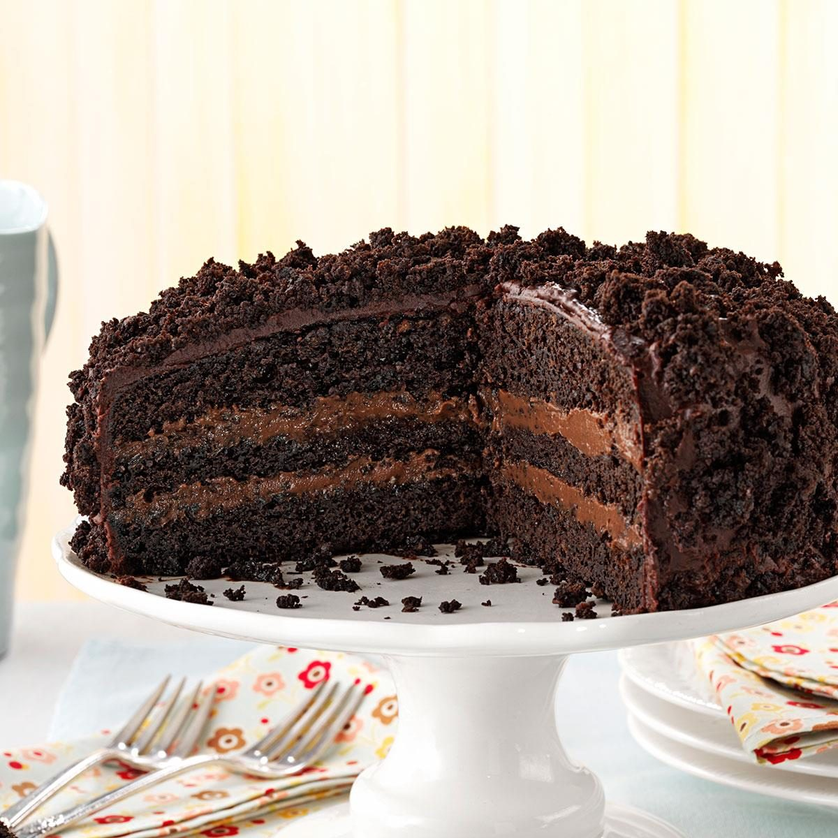 Brooklyn Blackout Cake Recipe