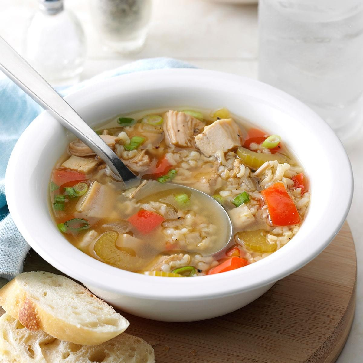 Turkey soup: cooking recipe. Turkey soup in a slow cooker 28