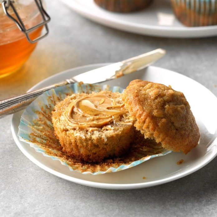 Kansas: Brown Sugar Oat Muffins