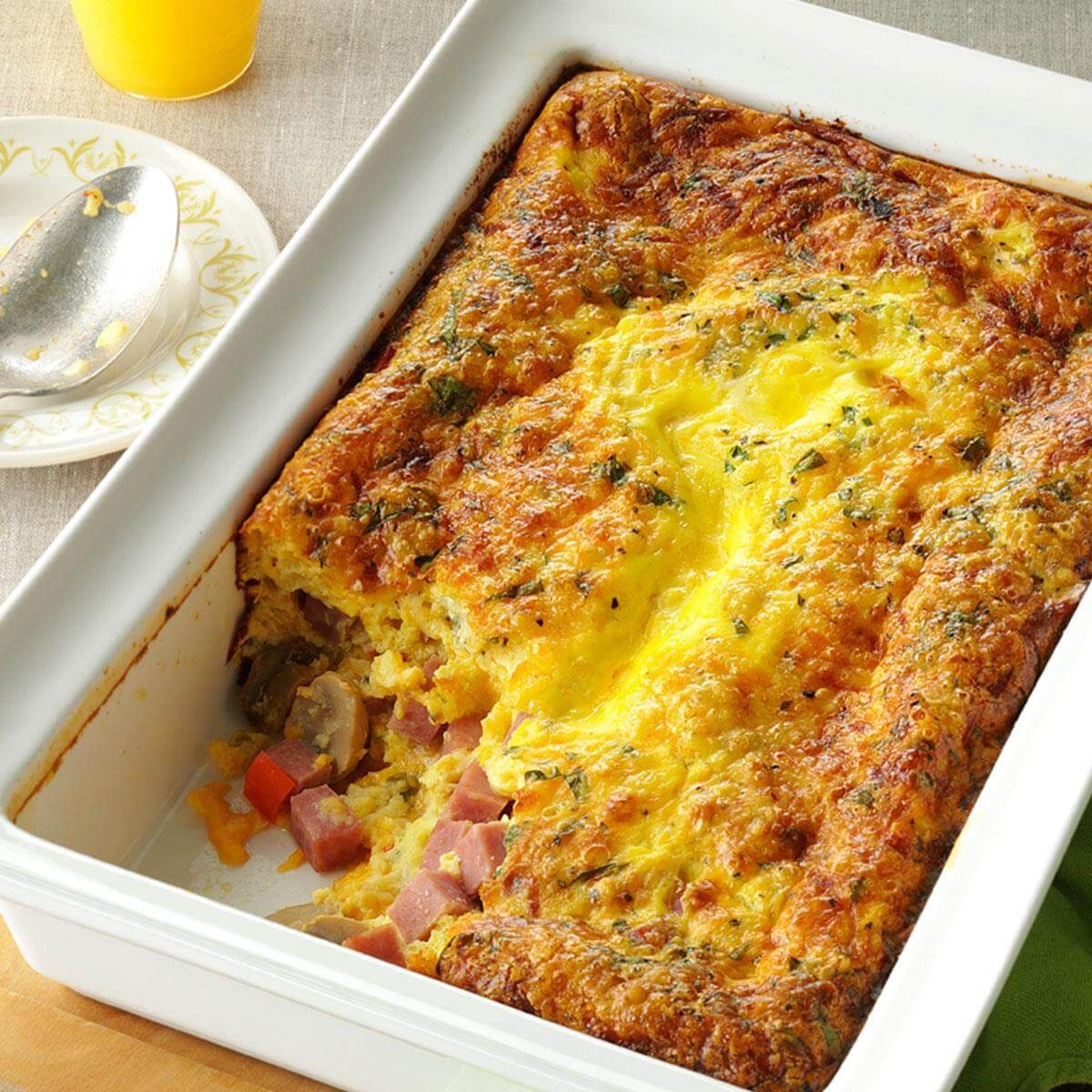 Brunch Egg Bake Recipe
