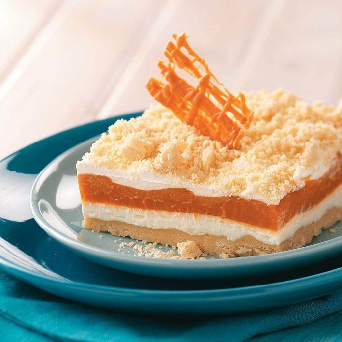 Butterscotch Pudding Torte