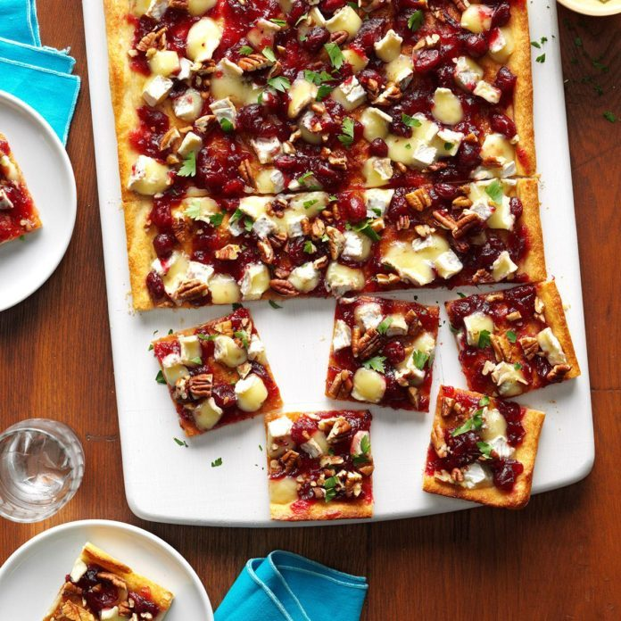 Camembert & Cranberry Pizzas