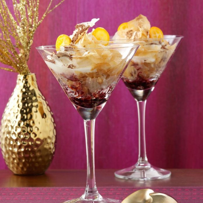 Cannoli Martinis