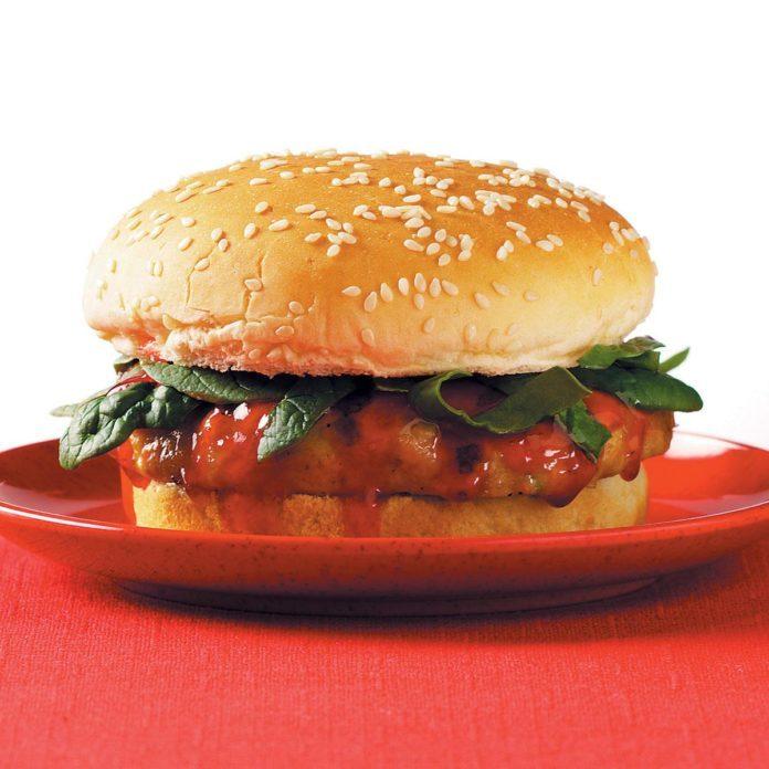 Cantonese Chicken Burgers