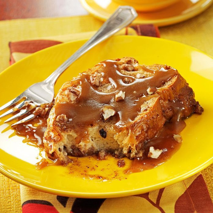 Caramel-Pecan French Toast Bake