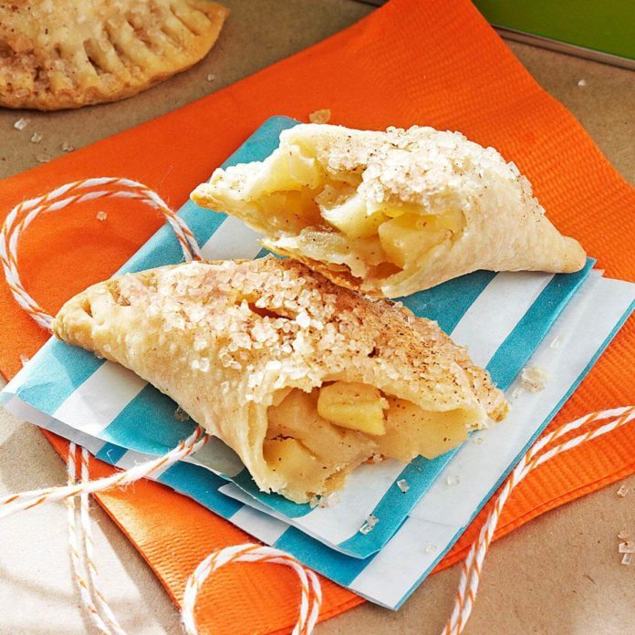Idaho: Caramelized Apple Hand Pies