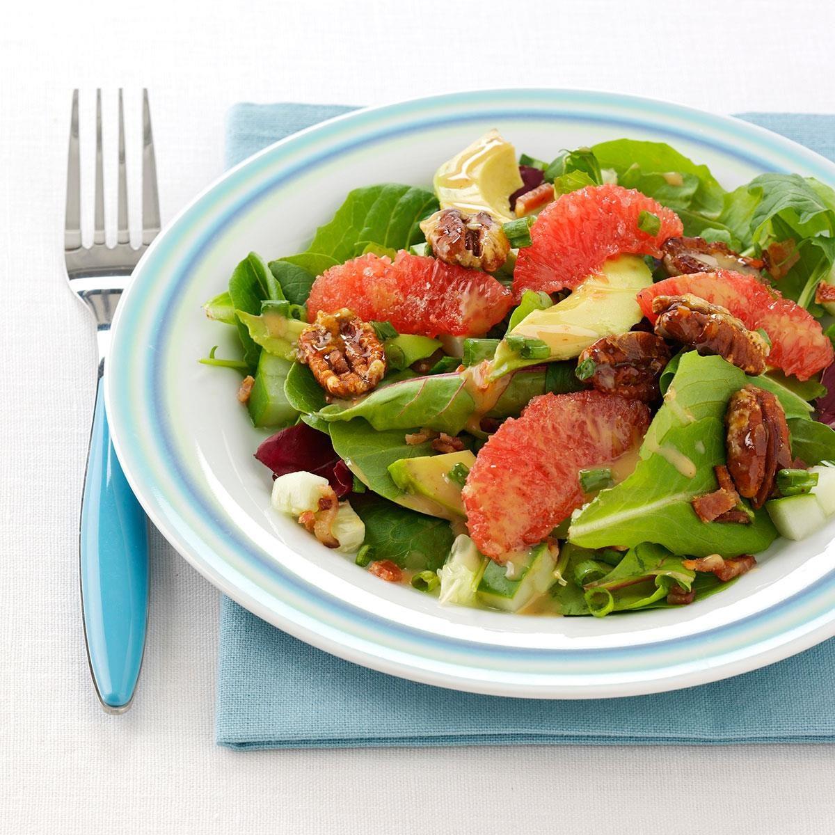 Caramelized Grapefruit Salad Recipe