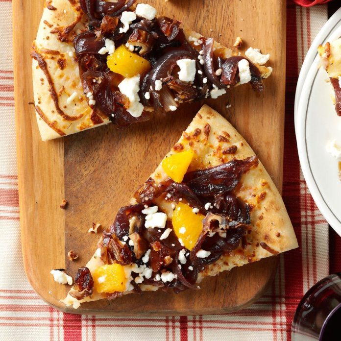 Caramelized Onion & Date Flatbread