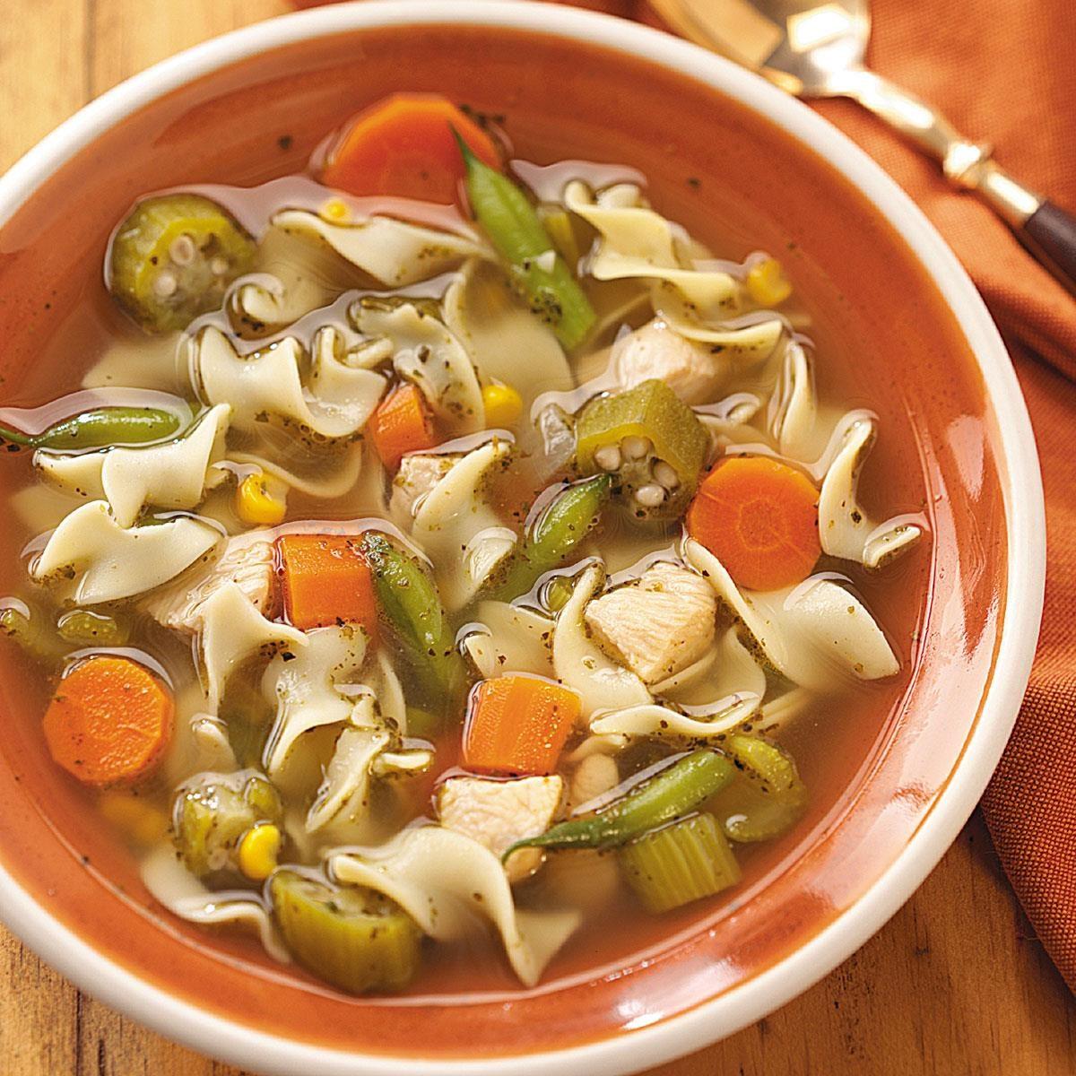 Carl's Chicken Noodle Soup Recipe