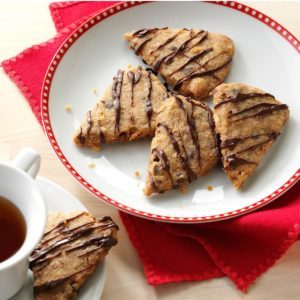 Chai Chocolate Chip Shortbread