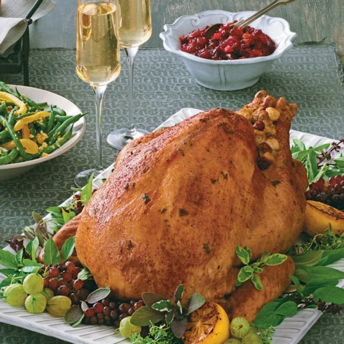 Champagne-Basted Turkey