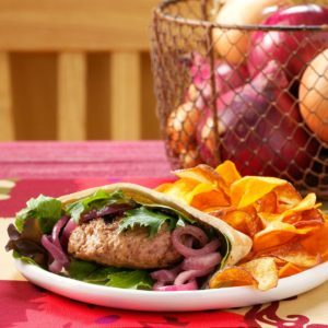 Champion Lamb Burgers for Two