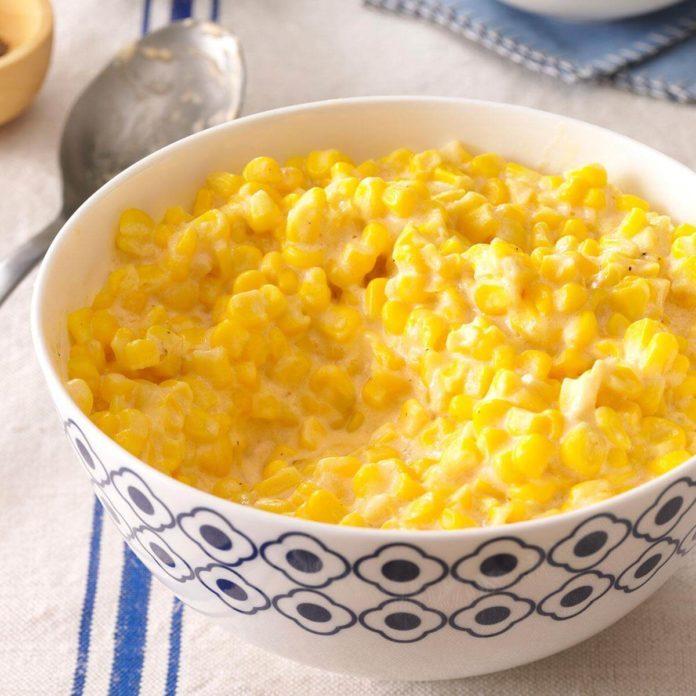 Cheddar Creamed Corn