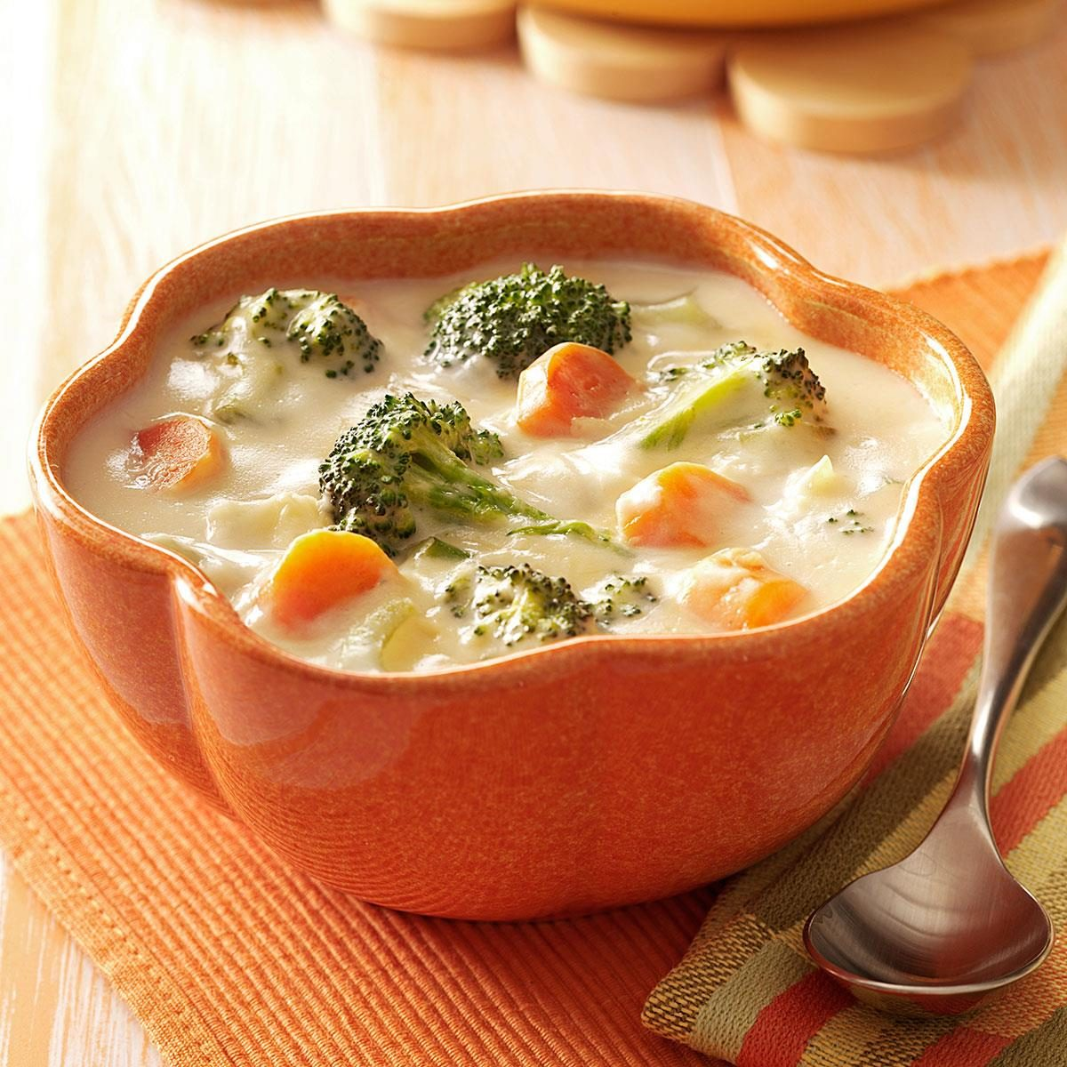 Broccoli And Cheese Soup From The Test Kitchen