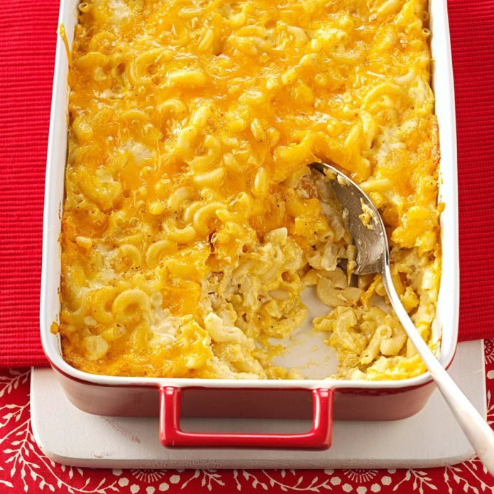 Cheesy Mac & Cheese