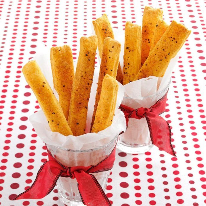 Cheesy Straws