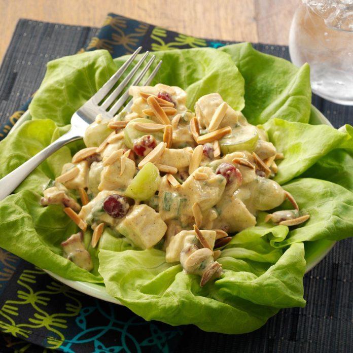 Chicken & Chutney Salad