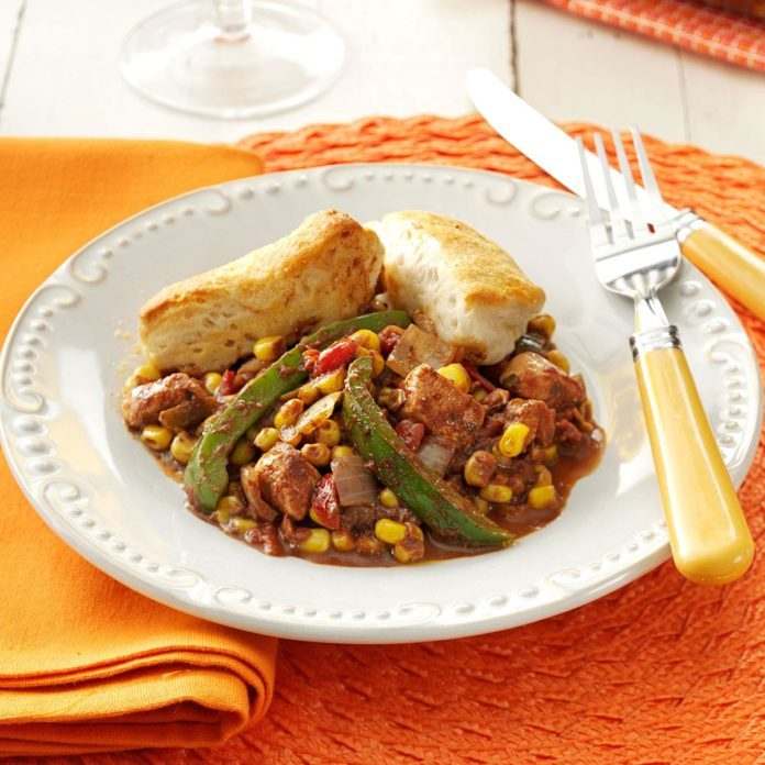 Chicken Mole Casserole