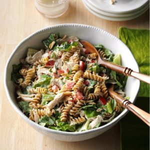 Chicken Pasta Caesar Salad