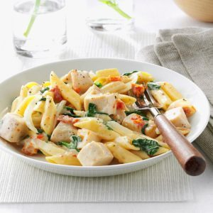 Chicken & Spinach Mostaccioli