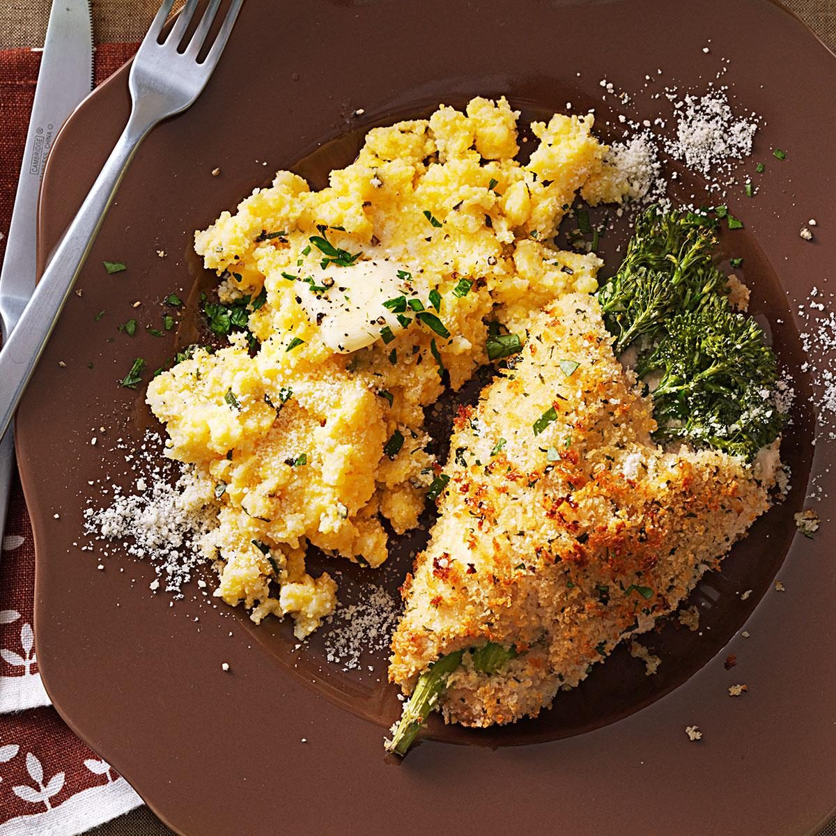 Chicken stuffed with broccolini cheese recipe taste of home forumfinder Choice Image