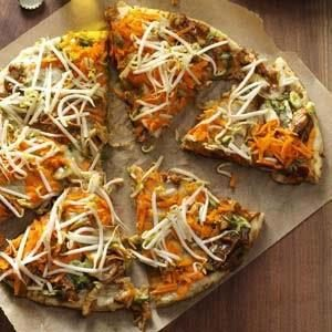 Chicken Thai Pizza