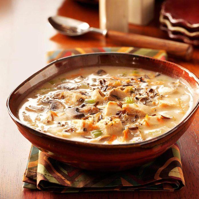 Chicken Wild Rice Soup