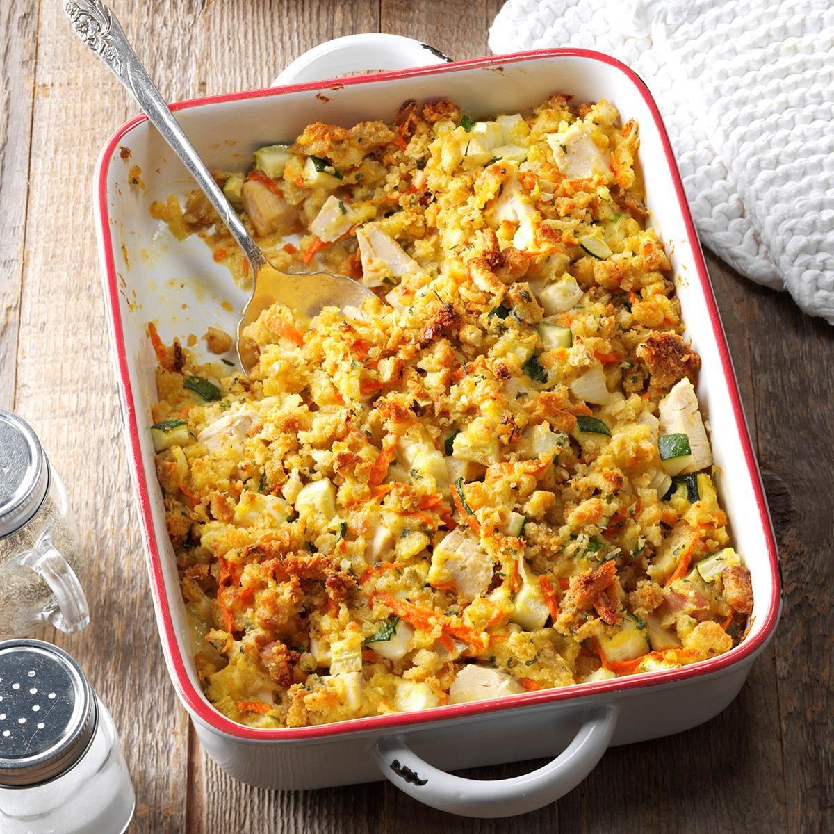 Casseroles Recipes: Chicken Zucchini Casserole Recipe