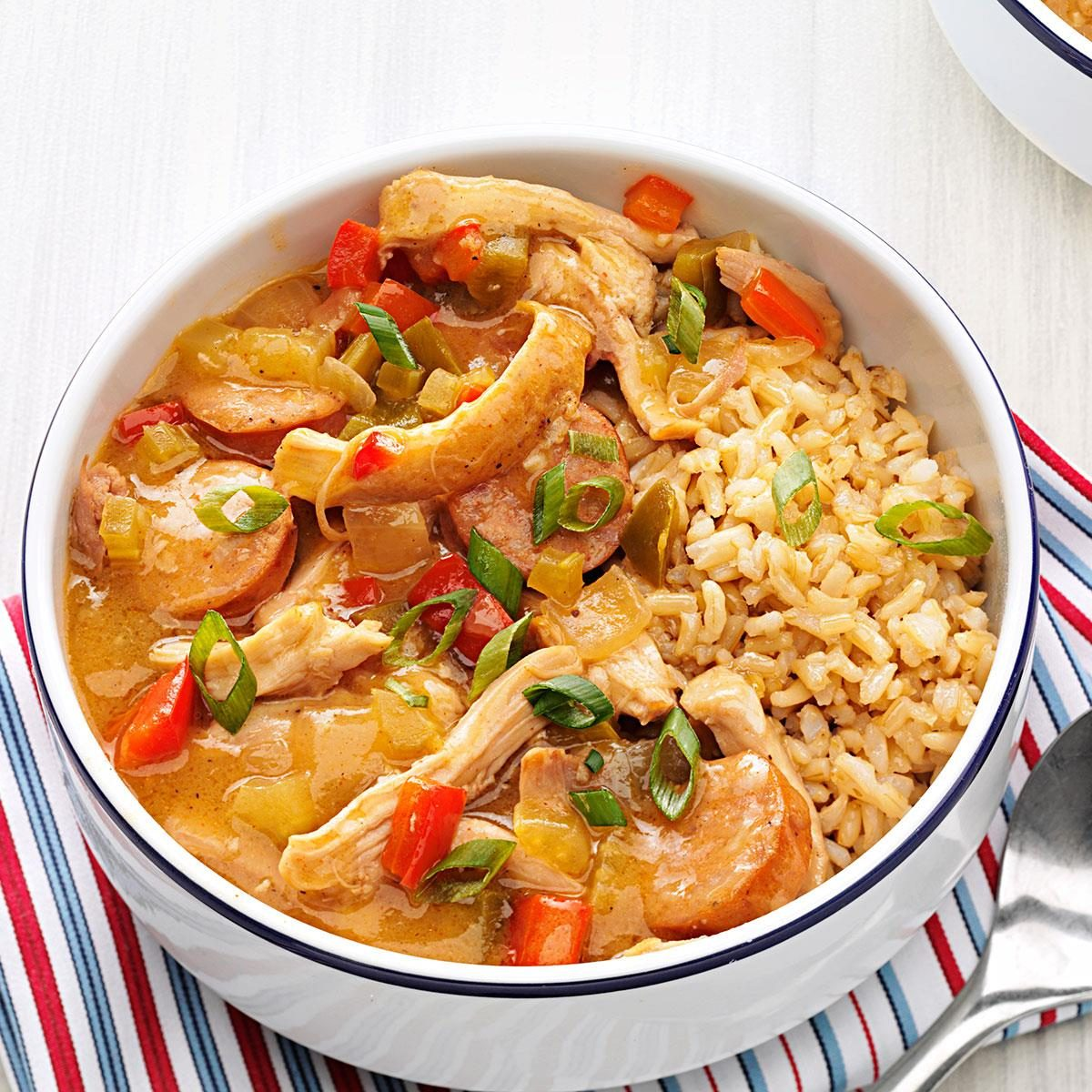 Chicken and Andouille Gumbo