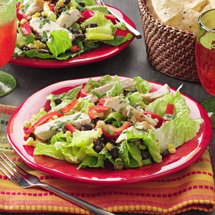 Inspired by McDonald's Southwest Grilled Salad