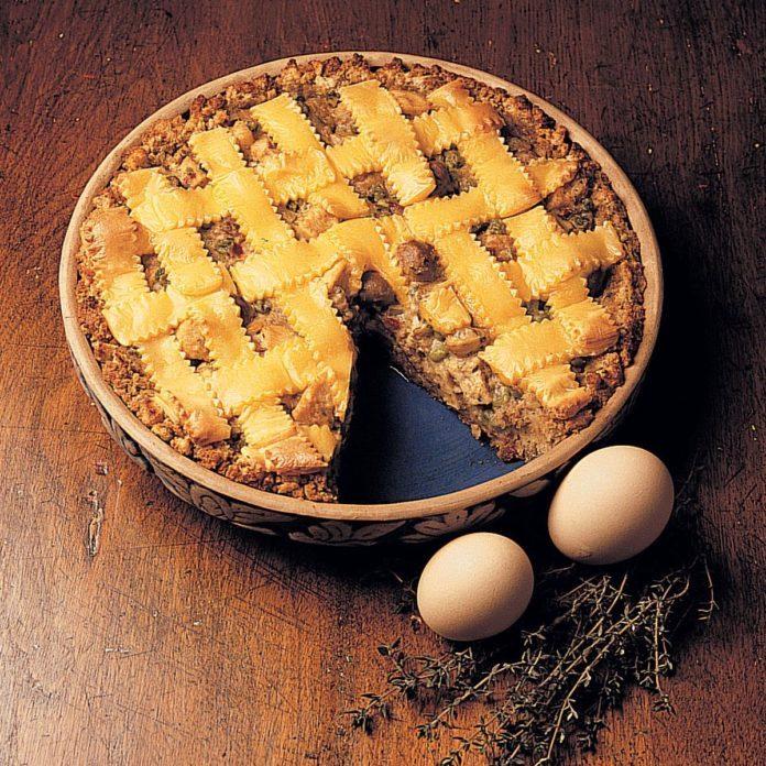 Chicken and Stuffing Pie
