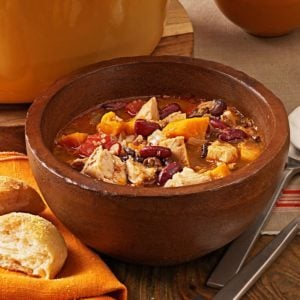 Chicken and Sweet Potato Chili