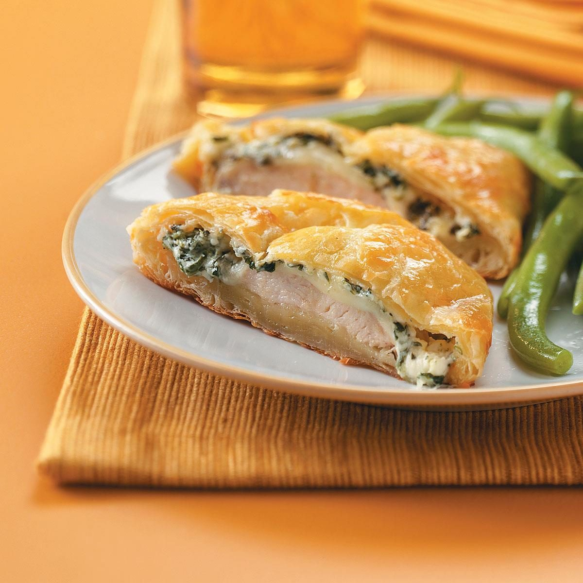 Chicken In Puff Pastry Recipe