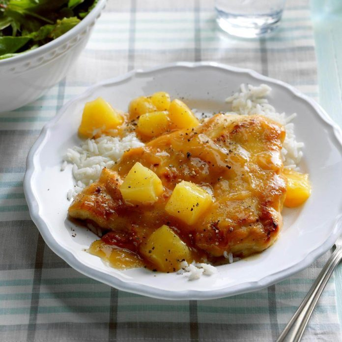 Chicken with Pineapple