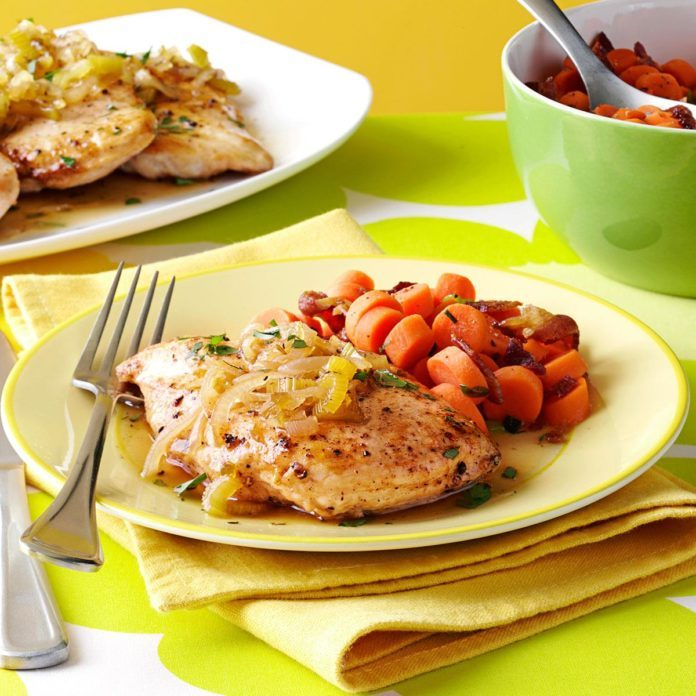 Chicken with Sweet Jalapeno Sauce