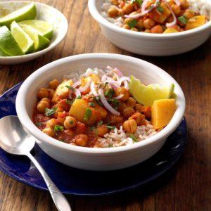 Chickpea & Potato Curry