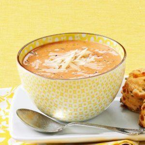 Chili-Basil Tomato Soup